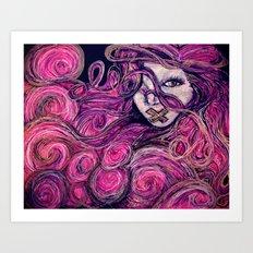 Silent Gypsy Art Print