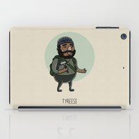 the walking dead iPad Cases featuring The Walking Dead, Tyreese by Jarvis Glasses
