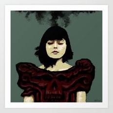 Pretty Dark Art Print