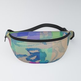 Watercolour-Pixel-Painting Fanny Pack