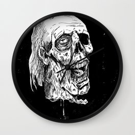 The Severed Head of Mine Enemy Wall Clock