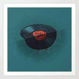 Hot Record Art Print