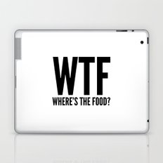 WTF Where's The Food Laptop & iPad Skin