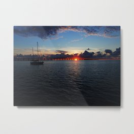 Key Largo, Florida Sunrise Metal Print