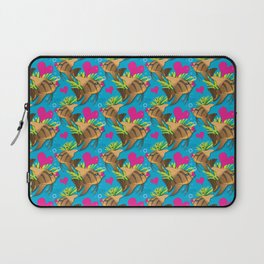 FishFlops Lips the AngelFish Laptop Sleeve