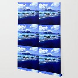 Bora Bora Island Tropical Paradise Wallpaper