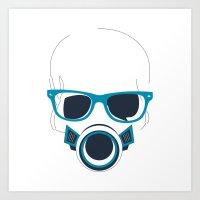 Modern Hipster Art Print