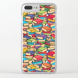 Maximalist Book Collector Clear iPhone Case