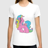 my little pony T-shirts featuring My Little Bowie Pony by Melina Espinoza