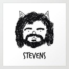 Stevens Art Print