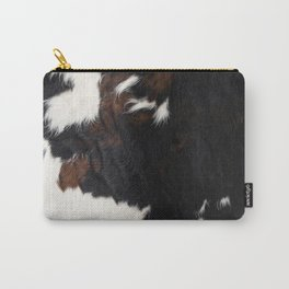 Cowhide Farmhouse Decor Carry-All Pouch