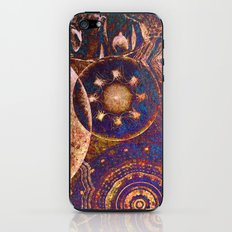 Mysterious Circles iPhone & iPod Skin