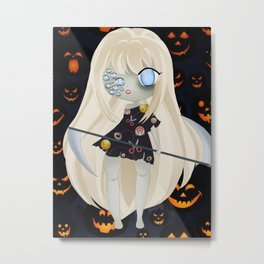 Creepy Cute Sara Metal Print