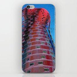 Torre Fira bcn iPhone Skin