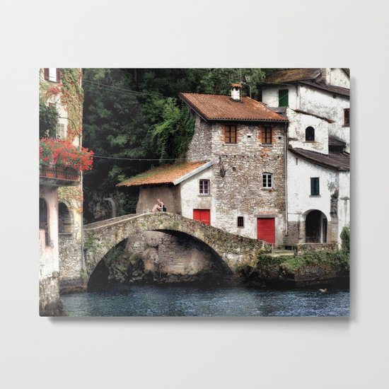Ponte della Civera Metal Print