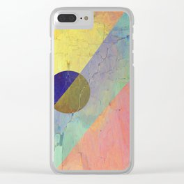 Hipster Solar Flare Clear iPhone Case