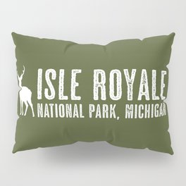 Isle Royale Deer Pillow Sham