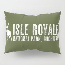 Isle Royale Deer Pillow Sham