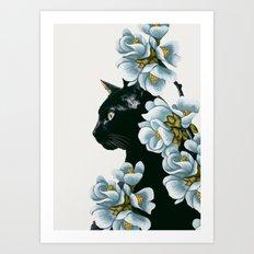 cat 2 Art Print