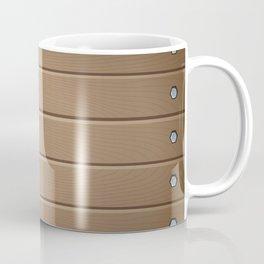 Wood Table Pattern Coffee Mug