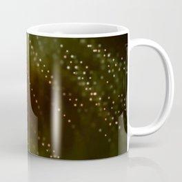 Green and Brown Abstract Coffee Mug