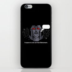 Space Scream iPhone & iPod Skin