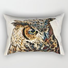 Tiger Of The Air Rectangular Pillow