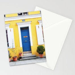 58. Yellow House, Paris Stationery Cards