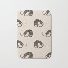 Blockprint Cheetah Bath Mat