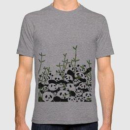 A Pandemonium of Pandas  T-shirt
