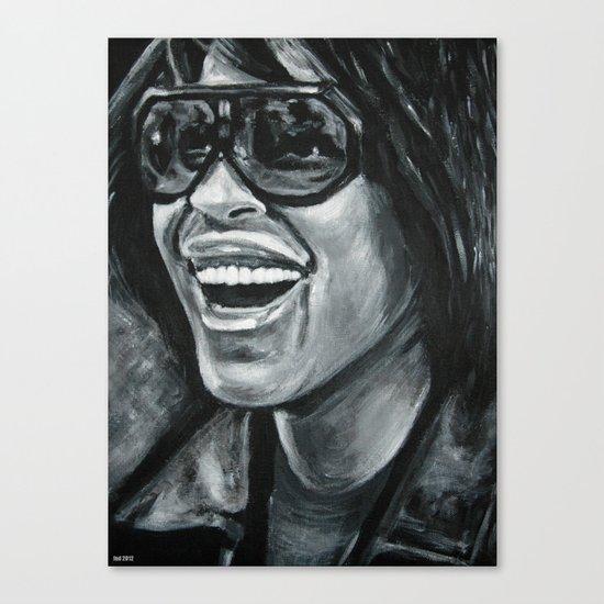 keep smiling! Canvas Print