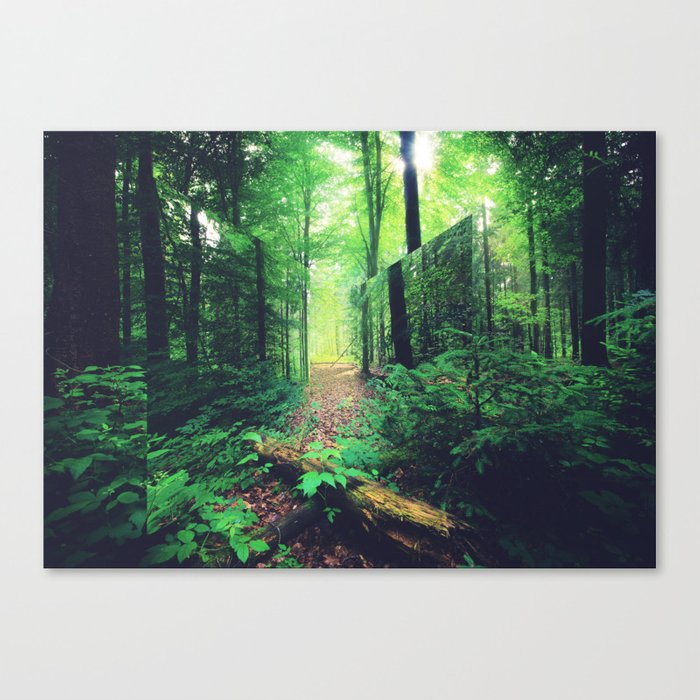 Lacanian Forest Canvas Print