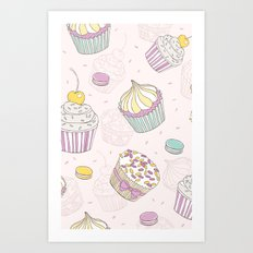 Sweets Galore! Art Print