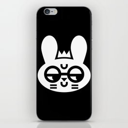 Wry Rabbit iPhone Skin
