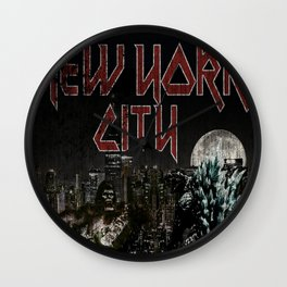 New York F$#ing City Wall Clock