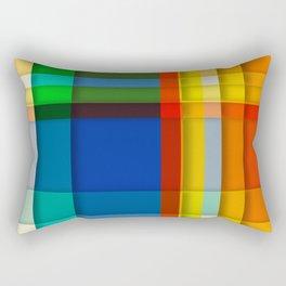 rectangle layers Rectangular Pillow