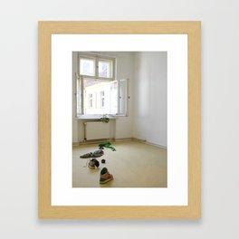 Springtime Defenestration Framed Art Print