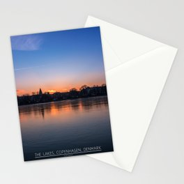 The Lakes, Copenhagen Stationery Cards
