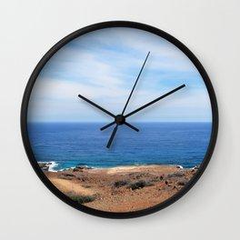 Desert Meets Sea Wall Clock