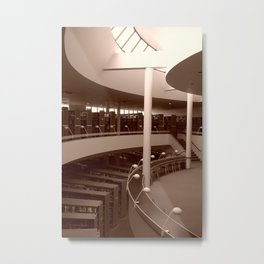 Aalto Mt. Angel Library 47 Metal Print
