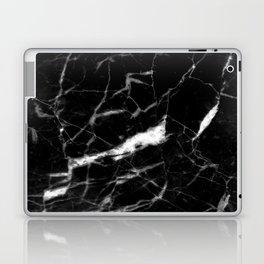 Black & White Marble Laptop & iPad Skin