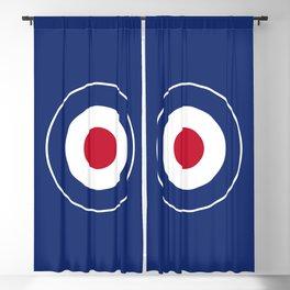 RAF Type D Roundel Blackout Curtain
