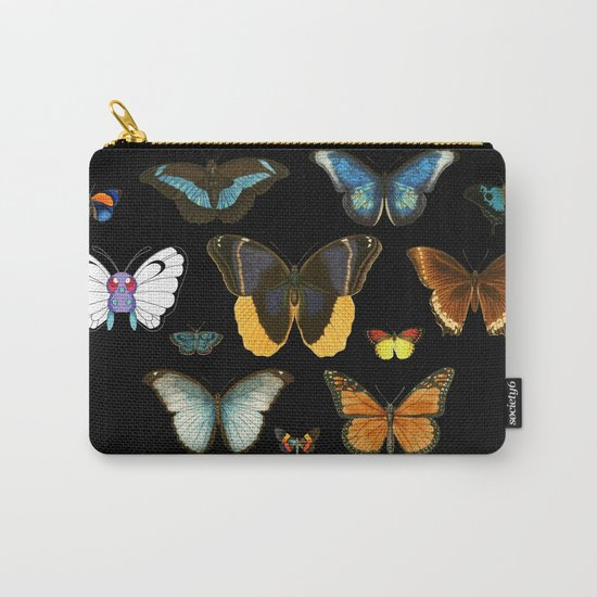 Entomology (Black) Carry-All Pouch