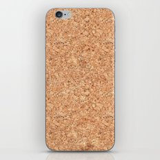 Real Cork iPhone Skin