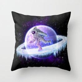 spaceskater Throw Pillow