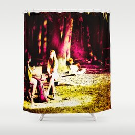 Just Friends Shower Curtain