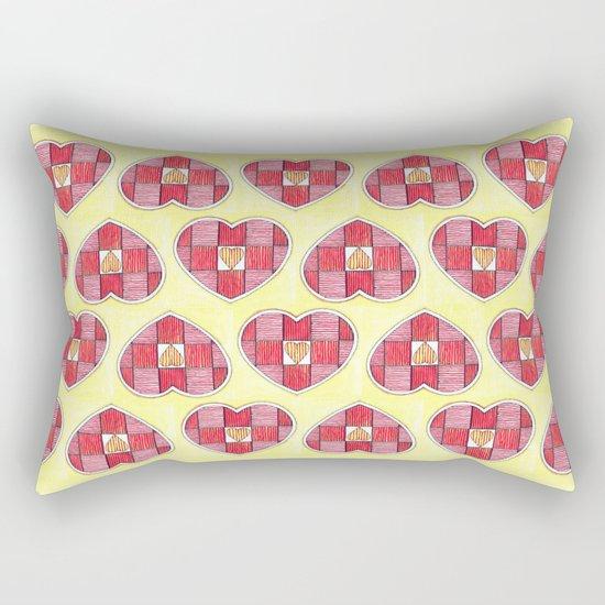 Pinstripes Rectangular Pillow