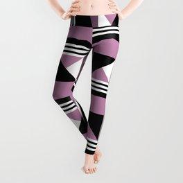 Seamless modern squares pattern Leggings