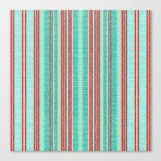 Beachhouse Stripe Canvas Print