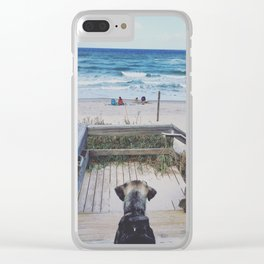 A Dogs Life Clear iPhone Case